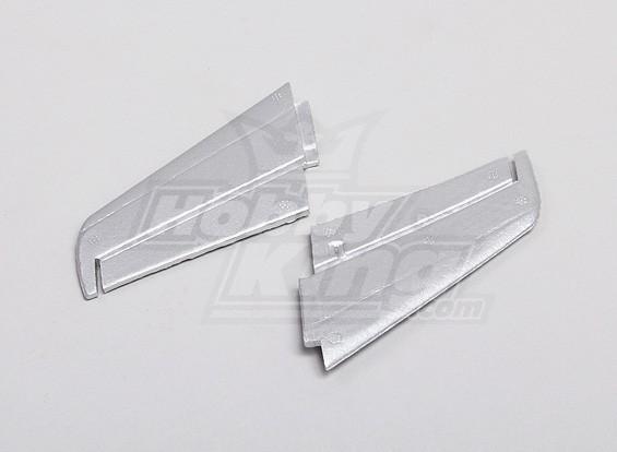 F86 Sabre 35 milímetros EDF Micro Jet Horizontal inserção da cauda