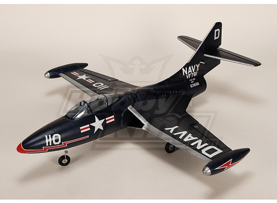 F9F Panther R / C Ducted Fan Jet Plug-n-Fly