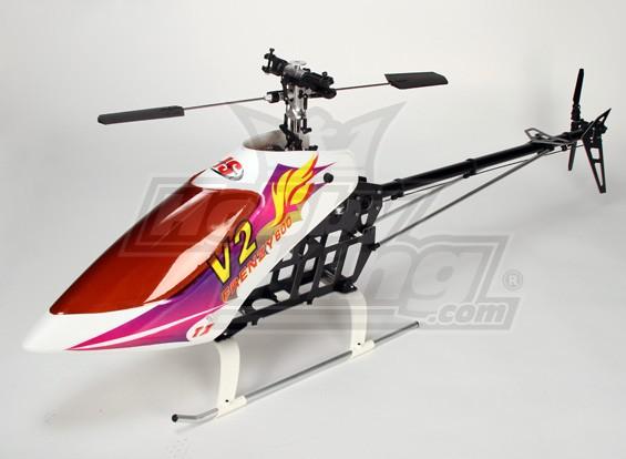 Frenzy 600BD Kit helicóptero V2 EP 3D (Belt Drive)