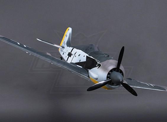 H-King FW190 w Luzes Flaps retrai engrenagem Portas 1.200 milímetros / (PNF)
