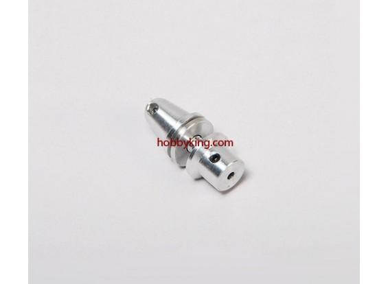 adaptador Prop w / Alu Cone M5x2.3mm eixo (Grub tipo parafuso)