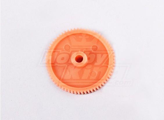 Substituição Nylon engrenagem 3mm - 64T