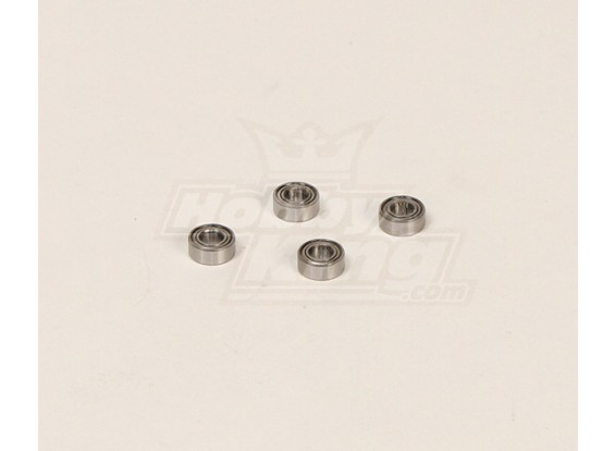 HK600GT Rolamentos Pack (10x4x5mm) (4pcs / saco)