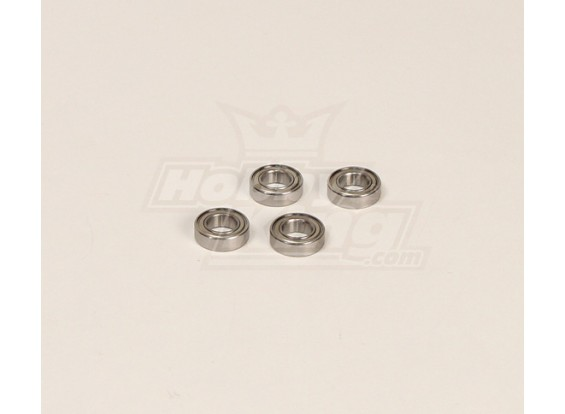 HK600GT Rolamentos Pack (9x12x5mm) 4pcs / bag