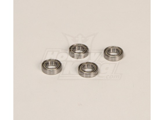 HK600GT Rolamentos Pack (10x19x5mm) 4pcs / bag