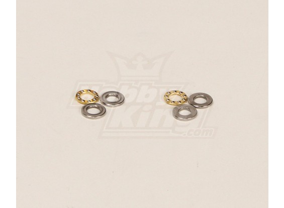 HK600GT Thrust Rolamentos Pack (5.3x10x4mm) 2pcs / bag
