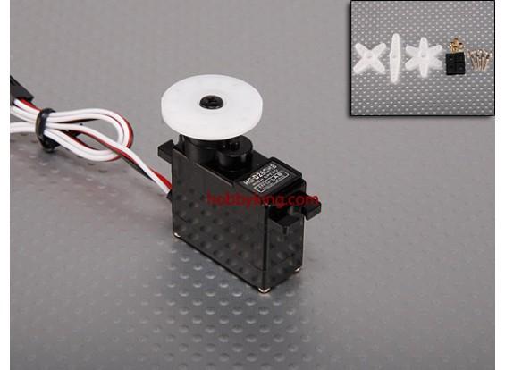 HGD digitais 260HB CarbonGear Servo 16g / 0,12 / 2,0 kg