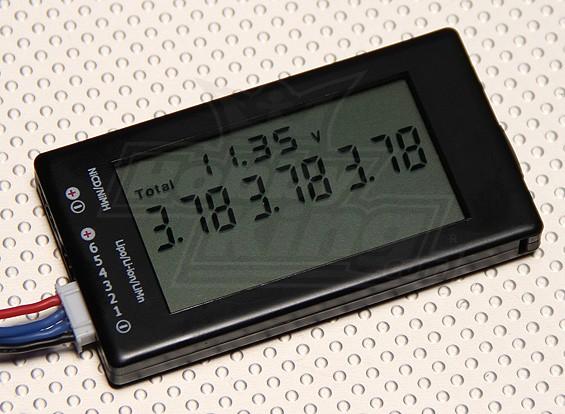 6S Detector HobbyKing ™ LCD Bateria