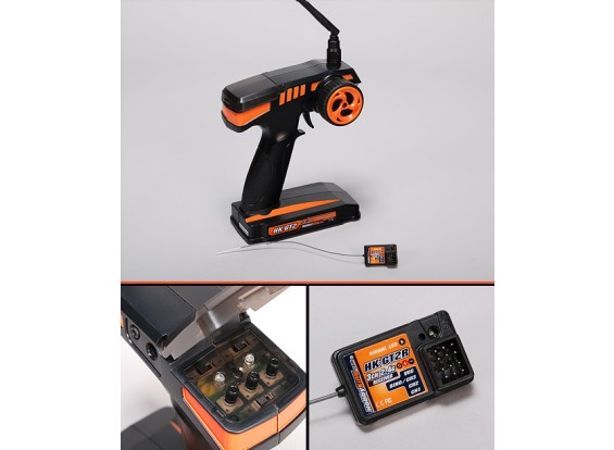 HobbyKing® ™ GT-2 2.4Ghz 2Cr Tx & Rx