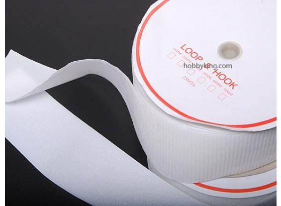 Poliéster Gancho e Loop Velcro V-FORTE (1mtr)