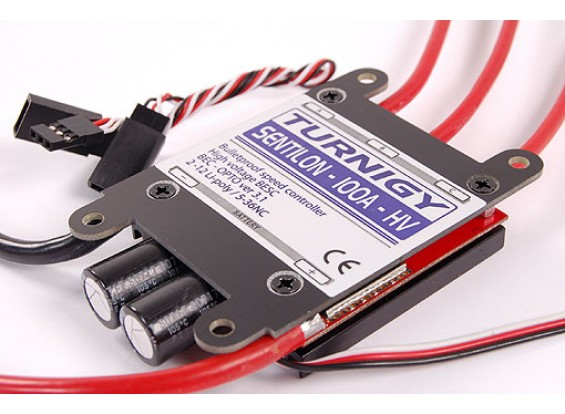OEMRC Sentilon 80A 2-12S BESC High Voltage