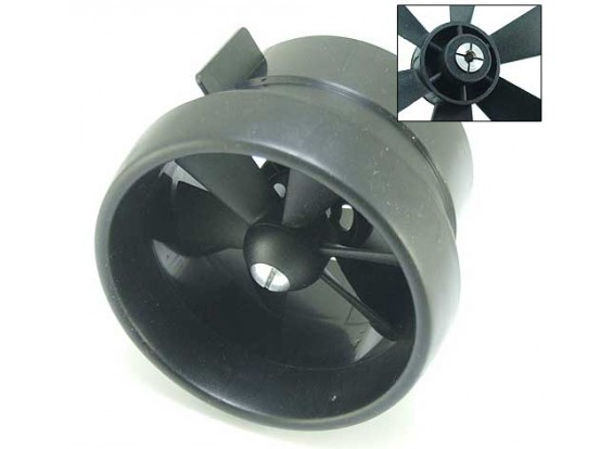 EDF Ducted Fan Unit 6 Lâmina 2.56inch / 66 milímetros