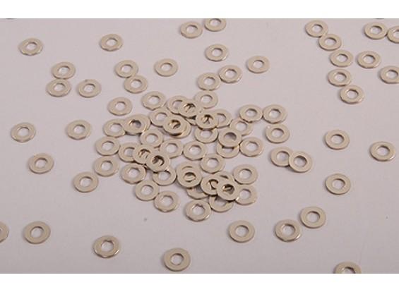 6 milímetros anilha (100pc)