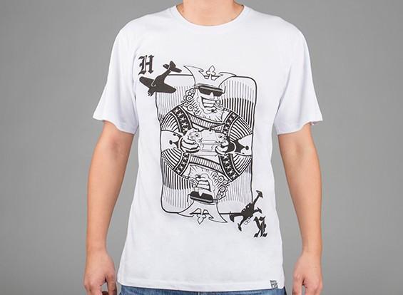 HobbyKing Vestuário Rei Cartão de camisa de algodão (M)