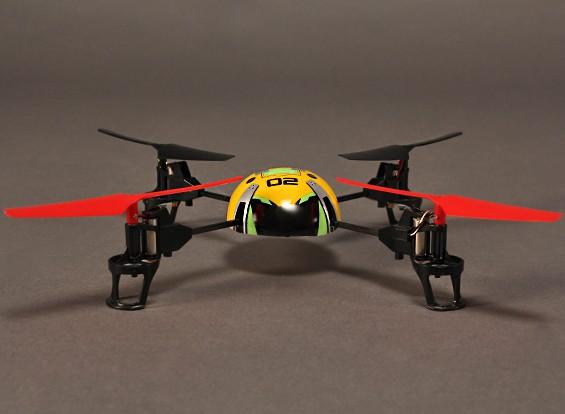 HobbyKing® ™ Q-BOT Quadrotor (Modo 2) (RTF)