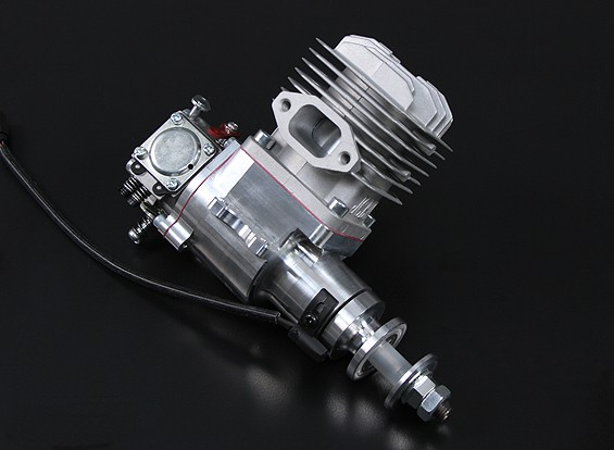 JC23 EVO 2 motor de feixe Mount gás w / CD-ignição 23cc / 3.5hp @ 9,000rpm
