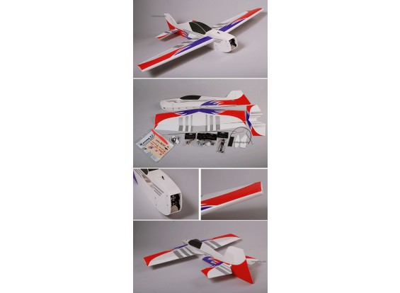 Ultra-light Mini Katana 3D 3D 95% ARF w / motor e ESC