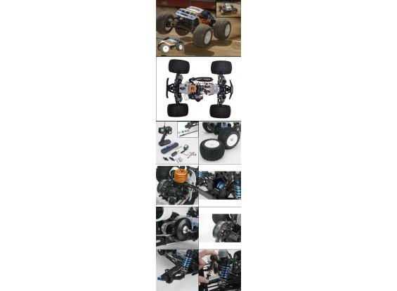 LST2 Monster Truck RTR w / JR XS3 Transmissor