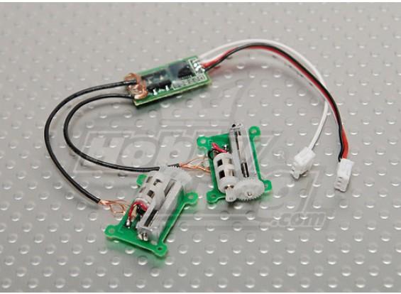 HobbyKing Micro V-Tail Servo Set 29,5 g / 0.11sec / 3,2 g Versão 2
