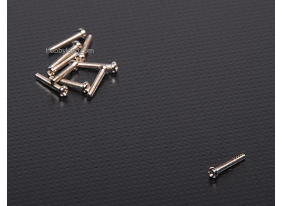 Arredondada Phillips Cabeça M2x12 (10pcs / set)