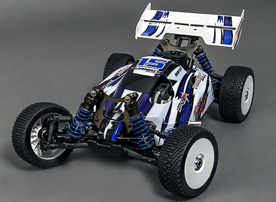 Turnigy Nitro Rumble 1 / 8th 4WD Nitro Corrida Buggy (Ready-To-Run)