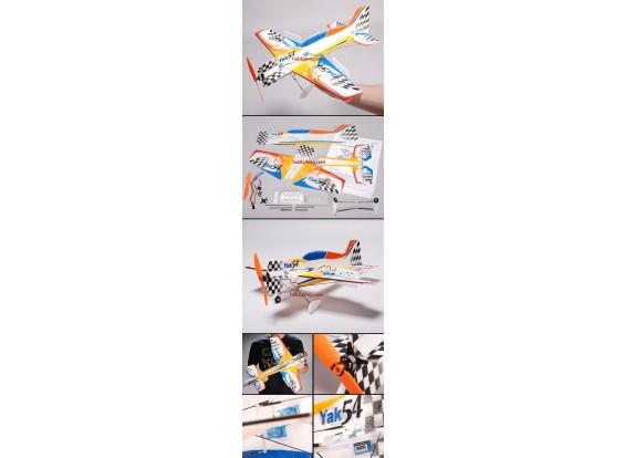 Yak-54 Micro 3D Kit avião EPP w / Motor & ESC