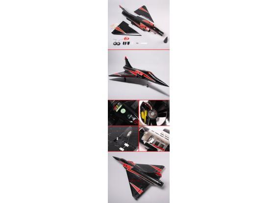 Jet Mirage-2000 w / Brushless EDF