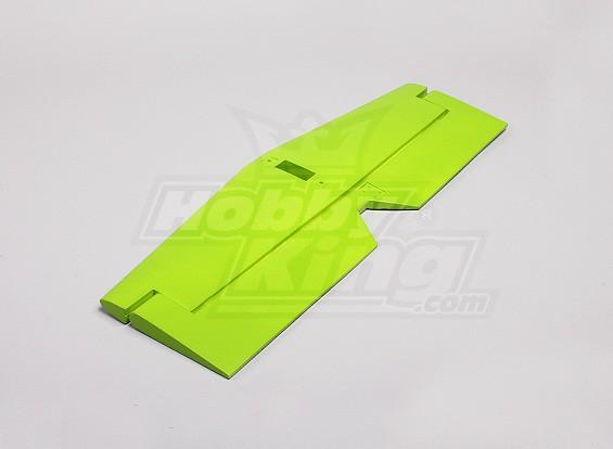MX2 Verde 3D - Cauda Horizontal substituição