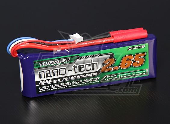 Turnigy nano-tecnologia 2650mah 3S 25 ~ 50C Lipo pacote