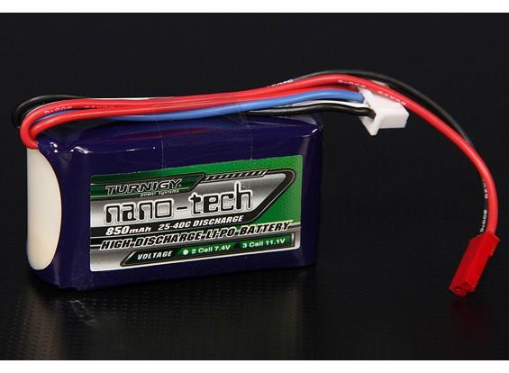 Turnigy nano-tecnologia 850mAh 3S 25 ~ 40C Lipo pacote