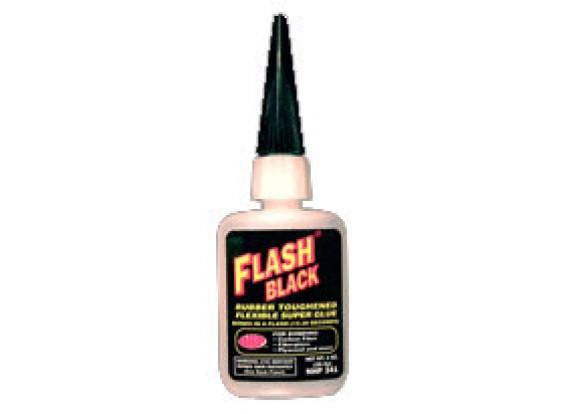 NHP 341 flash de borracha preta 1 onça CA