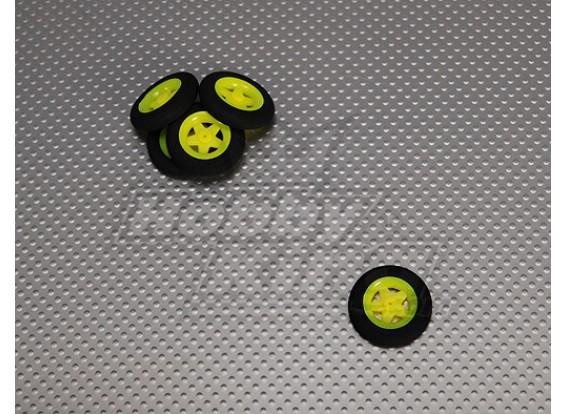 Super Light 5 raio roda D30xH7 (5pcs / bag)
