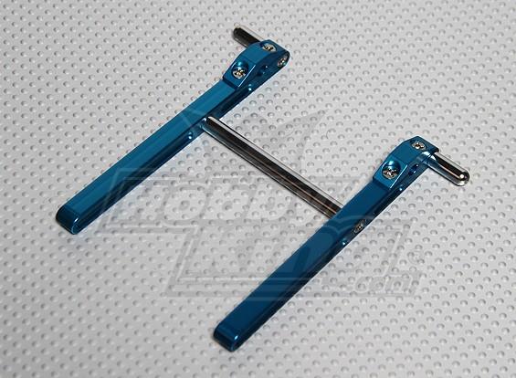 CNC metal Transmitter Suporte JR & Futaba