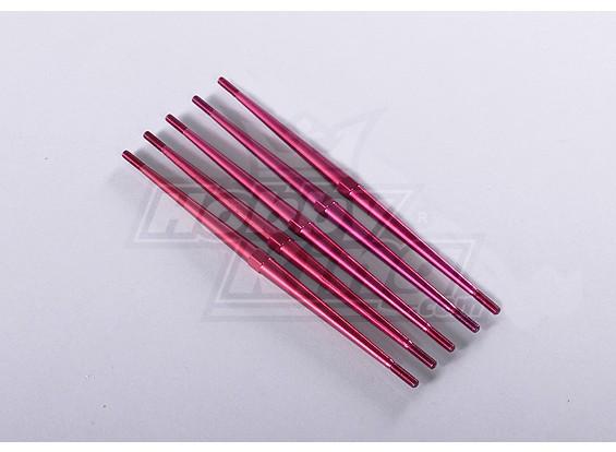 Alumínio anodizado Tensor push Rods (5pcs / bag)
