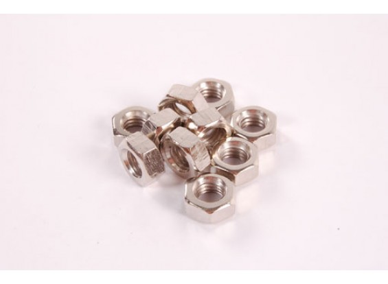 Hex-nuts 10pc M5