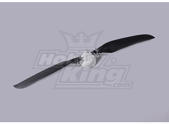 Hélice dobrável W / Liga Hub 40 milímetros / 11x6 eixo 3mm (1pc)