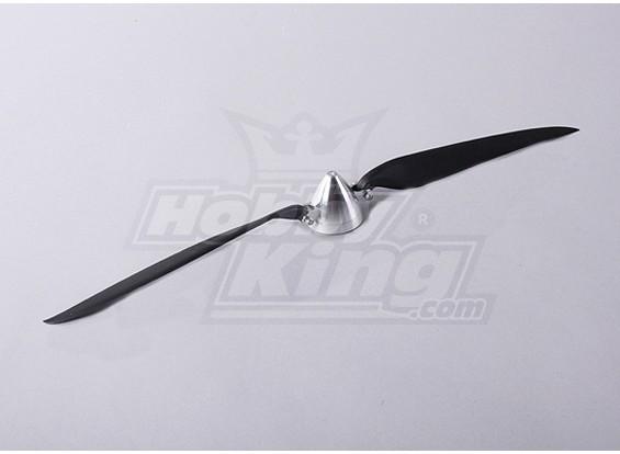 Folding 50 milímetros hélice W / Liga Hub / 5 mm Shaft 17x10 (1pc)
