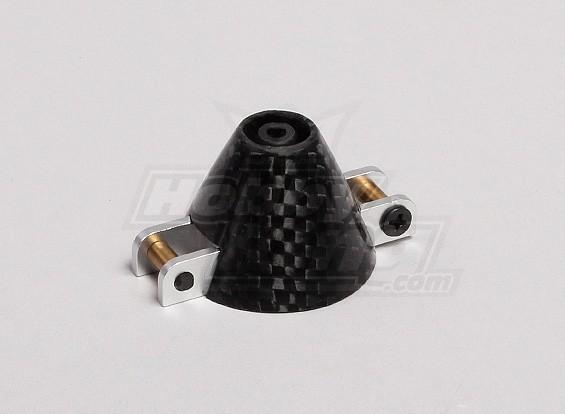 35mm de fibra de carbono Spinners para hélice dobrável (3,17 milímetros Shaft)