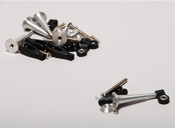 Extra Forte Controle Horns w / Bearing 34 milímetros (5pcs)