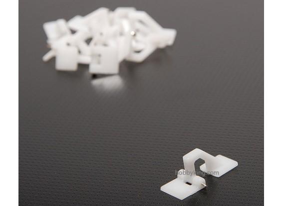 Escotilha dobradiça 27x10.5mm (10pcs)