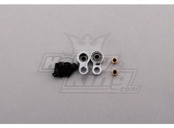 450 Tamanho Heli metal Controle cauda Rod Cabeça
