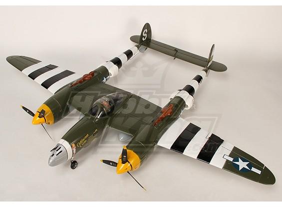 1.4m EPO Warbird w / retrai plug - & - Fly (. Camo)