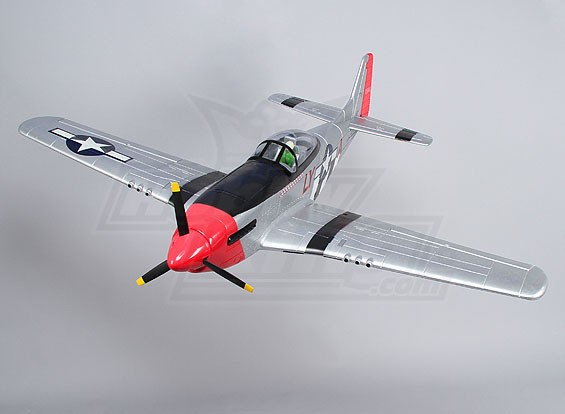P-51D Mustang 1.4m EPO (PNF)