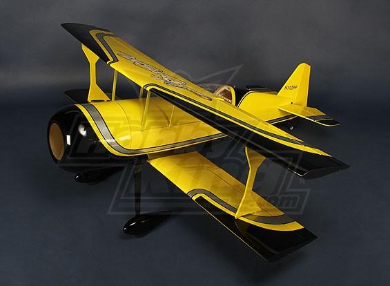 HobbyKing® ™ Pitts-S12 Python (amarelo / preto) 1,370 milímetro EP (ARF)