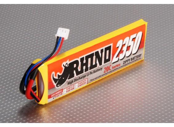 Rhino 2350mAh 2S1P 20C Lipoly pacote