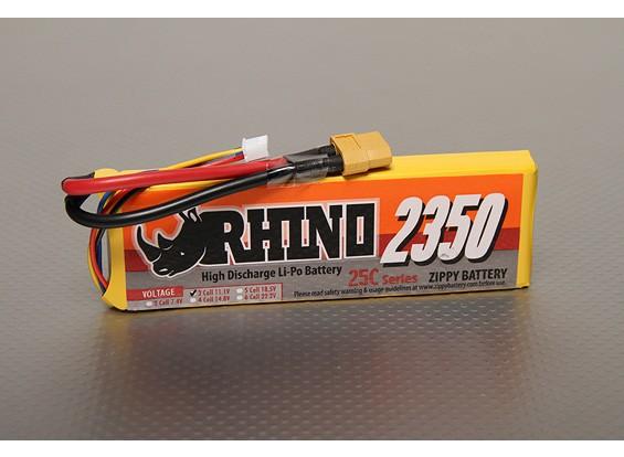 Rhino 2350mAh 3S1P 25C Lipoly pacote
