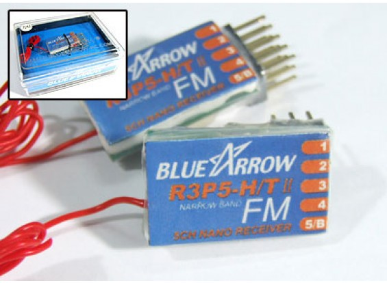 Seta 5CH 3,8 g 40MHz FM Micro Receiver - v3