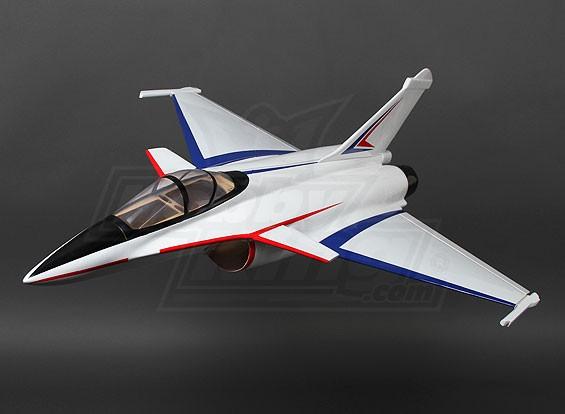 70 milímetros Rafale Composite gêmeo EDF Jet 800 milímetros (ARF)