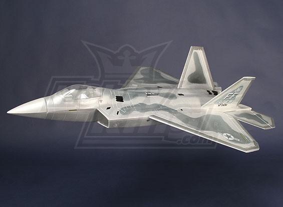 F-22 lutador Jet EPO 70 milímetros EDF (ARF)