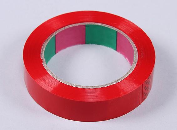 Tape asa 45mic x 24 mm x 100 m (Estreito - vermelho)